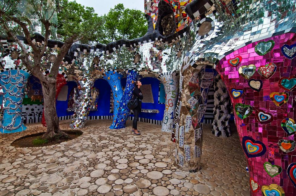 Capalbio Tarot Garden Of Niki De Saint Phalle 2015 Toscanamore Blog Of The Agriturismo I