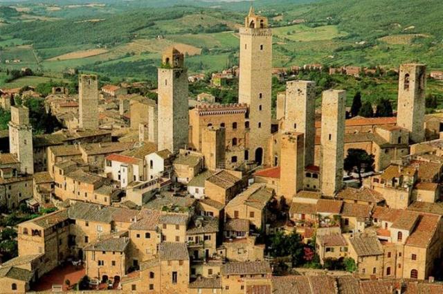 Vista S. Gimignano