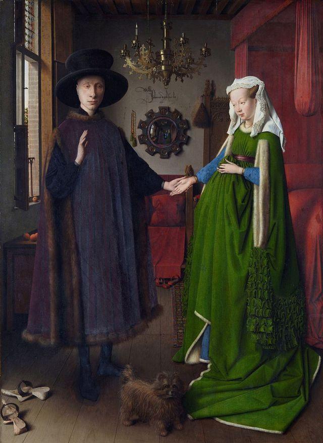 Jan van Eyck - Coniugi Aldobrandini