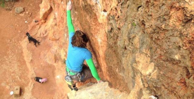 Monsummano Free climbing Cava Rossa